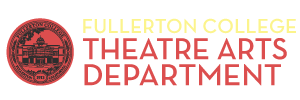 Fullerton College Theatre Arts Department Logo