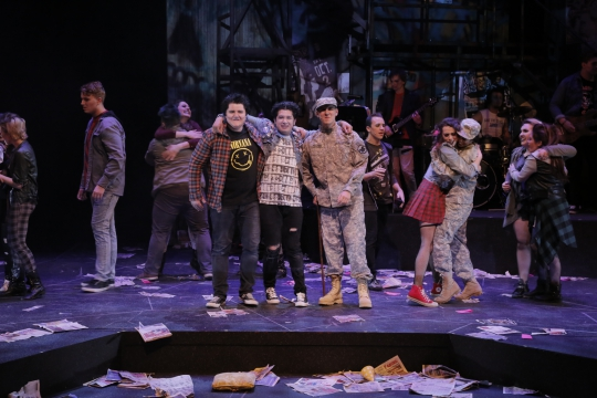American Idiot - March 2017 - Fullerton College Theatre Arts Department