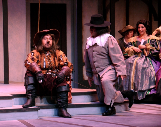 Cyrano de Bergerac - October 2006 - Fullerton College Theatre Arts Department