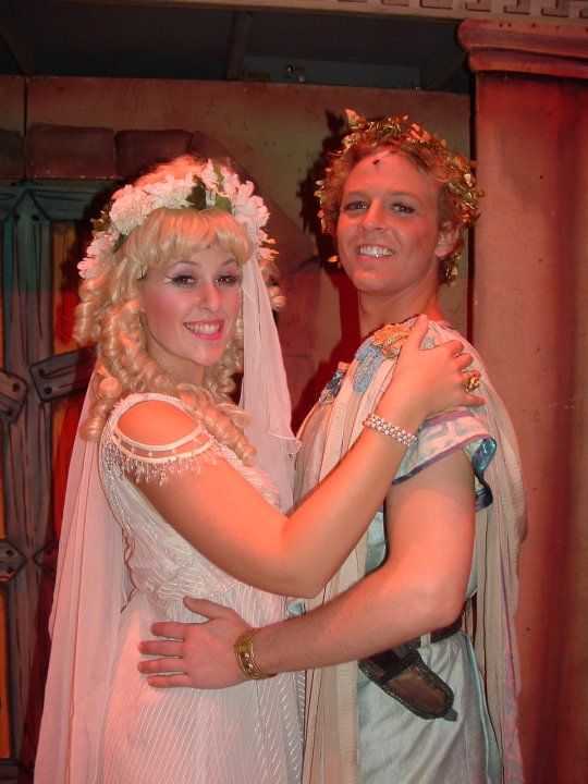 A Funny Thing Happened on the Way to the Forum - March 2005 - Fullerton College Theatre Arts Department