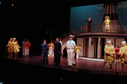 Anything Goes - July 2005 - Fullerton College Theatre Arts Department
