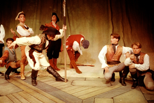 Rosencrantz and Guildenstern Are Dead - December 1994 - Fullerton College Theatre Arts Department