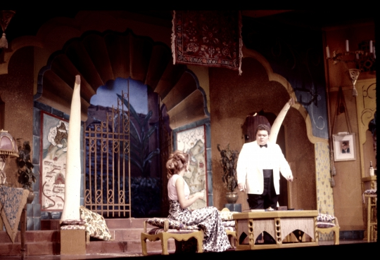 Sheep on the Runway - November 1972 - Fullerton College Theatre Arts Department