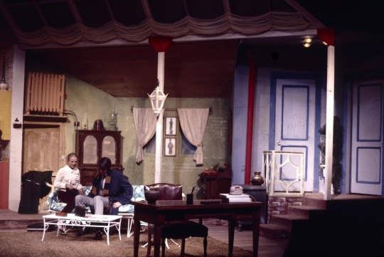 Barefoot in the Park - May 1972 - Fullerton College Theatre Arts Department