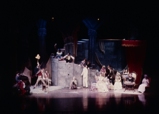 The Madwoman of Chaillot - October 1968 - Fullerton College Theatre Arts Department