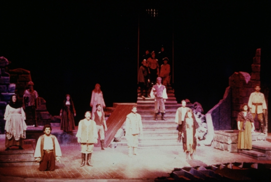 Man of La Mancha  - March 1987 - Fullerton College Theatre Arts Department